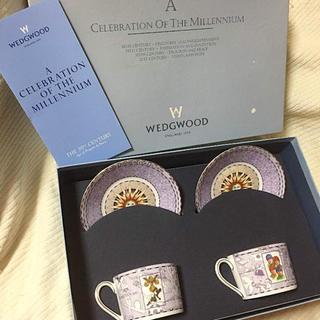 ウェッジウッド(WEDGWOOD)の【最終値下げ】激レア 未使用 正規品 ウエッジウッド ミレニアムカップソーサー(食器)