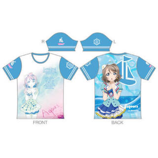 「ラブライブ!サンシャイン!!」ランニングTシャツ【渡辺曜Ver.】(Lサイズ)