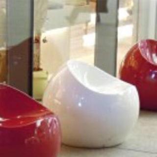 カルテル(kartell)のフィンストーン ボールチェア正規品 ホワイト 完売(スツール)