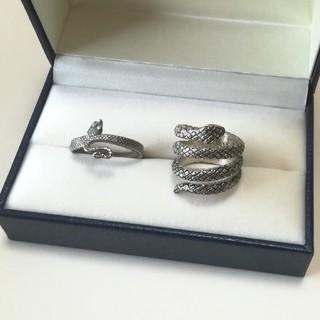 グリモワール(Grimoire)の【vintage】まとめ売り 指輪 蛇(リング(指輪))