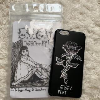 ジーヴィジーヴィ(G.V.G.V.)のG.V.G.V FLAT iPhoneケース(iPhoneケース)