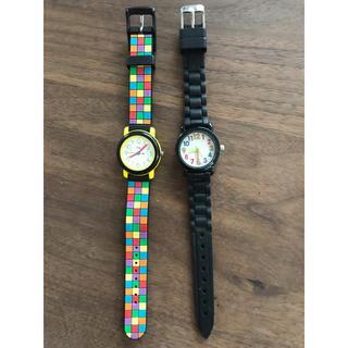子供用 腕時計 2本セット(腕時計)