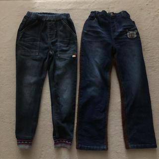 クリフメイヤー(KRIFF MAYER)の男の子  クリフメイヤー デニムパンツ 130サイズ(パンツ/スパッツ)