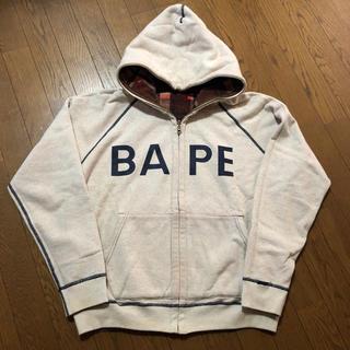A BATHING APE - 赤西 仁 着用 リバーシブルパーカー