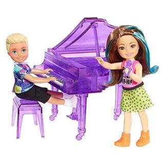 バービー(Barbie)のチェルシー (ケリー)&トミー ロッカーズ ドール ピアノ バービーの妹 (ぬいぐるみ/人形)