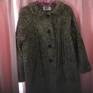 ケイティー(Katie)のkatie leopard coat(ロングコート)