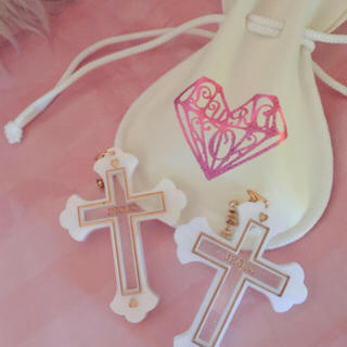 カンナビス レディース(CANNABIS LADIES)のCANNABIS LUVRA magic JESUS Cross Pierce(ピアス)