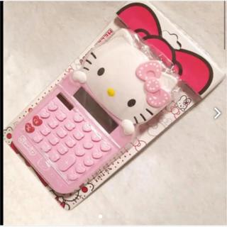 サンリオ - ハローキティ   ディスクトップ大型キティ型電卓