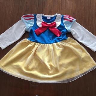 ディズニー(Disney)の白雪姫 長袖ワンピース 90cm(ワンピース)