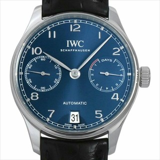 インターナショナルウォッチカンパニー(IWC)のIWC ポルトギーゼ オートマティック IW500710 新品 メンズ 腕時計(腕時計(アナログ))