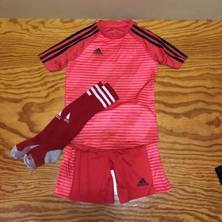 adidas - アディダス サッカートレーニングウェア 140cm 3点セット