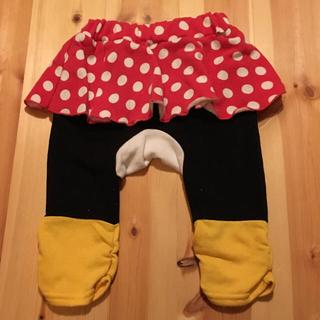 ディズニー(Disney)のミニーちゃん 80サイズ (パンツ)