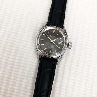 オリエント(ORIENT)のオリエント 21石 mini matic レディース自動巻腕時計 稼動品(腕時計)