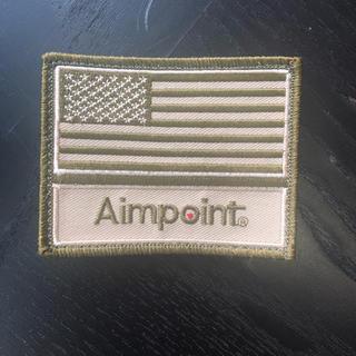 Aimpoint エイムポイント サバゲ ベルクロ 刺繍 パッチ(個人装備)