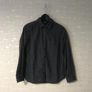 MUJI (無印良品) - 無印良品 綿100% シャツ