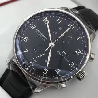 インターナショナルウォッチカンパニー(IWC)のIWC ポルトギーゼ クロノグラフ IW371447メンズ(腕時計(アナログ))