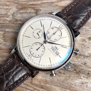 インターナショナルウォッチカンパニー(IWC)のIWC ポルトギーゼ クロノグラフ IW391007 メンズ(腕時計(アナログ))