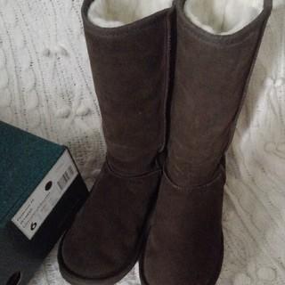 エミュー(EMU)のemu エミュ ムートン パターソンハイ 23cm(ブーツ)