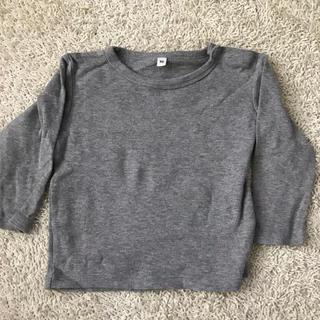 MUJI (無印良品) - 古着 無印良品 子供用長袖シャツ サイズ90
