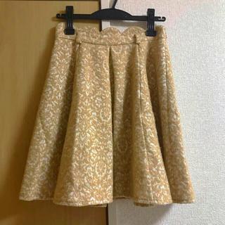 エルディープライム(LD prime)のフレアスカート(ひざ丈スカート)
