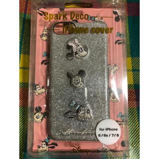 ディズニー(Disney)のSparkDeco iPhonecover ディズニー iPhoneケース(iPhoneケース)