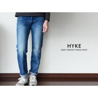 ハイク(HYKE)のHYKE ストレートデニムパンツ (デニム/ジーンズ)