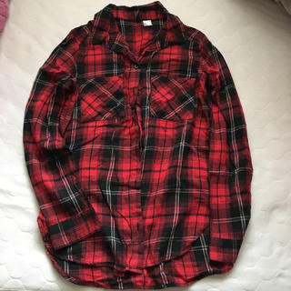 エイチアンドエイチ(H&H)のH&M チェックシャツ 32(シャツ/ブラウス(長袖/七分))
