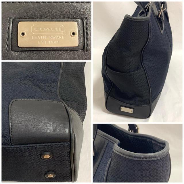 a68f05159bbb COACH(コーチ)のCOACH コーチ マイクロシグネチャー メンズ トートバッグ メンズのバッグ(