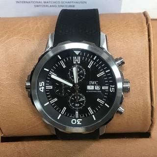 インターナショナルウォッチカンパニー(IWC)のIWC アクアタイマーエクスペディション IW376803 時計 メンズ(腕時計(アナログ))