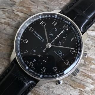 インターナショナルウォッチカンパニー(IWC)のIWC ポルトギーゼ クロノグラフ IW371438 メンズ (腕時計(アナログ))
