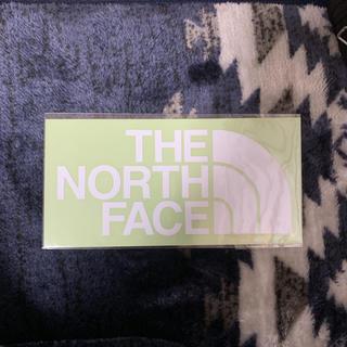 THE NORTH FACE - ノースフェイスステッカー(白)