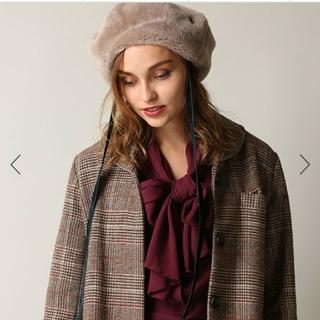 カシラ(CA4LA)のシャポードオー。ムートンベレー帽。カシラ(ハンチング/ベレー帽)
