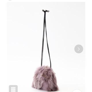 サミールナスリ(SMIR NASLI)のSMIR NASLI  リアル フォックスファー  巾着 バッグ(ショルダーバッグ)