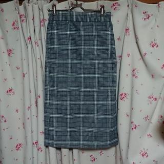 GU - GUチェックタイトスカート