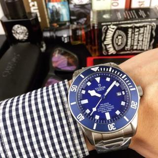 チュードル(Tudor)の腕時計 Tudor チュードル 自動巻き ファッション 大人気 新品同様(金属ベルト)