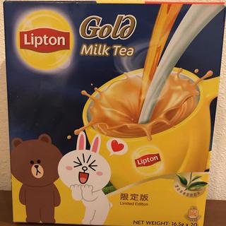 香港ミルクティー Line 限定品(茶)