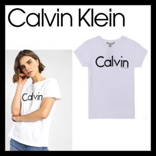 カルバンクライン(Calvin Klein)の日本未入荷☆ Calvin Klein カルバンクライン Tシャツ ロゴ(Tシャツ(半袖/袖なし))