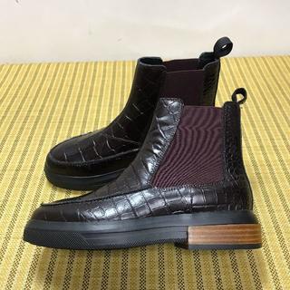 トッズ(TOD'S)のトッズ ブーツ レザー 靴 38(ブーツ)