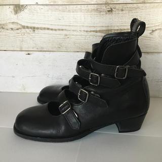 ジェーンマープル(JaneMarple)のjane marple  4ストラップ シューズ 靴 (ローファー/革靴)