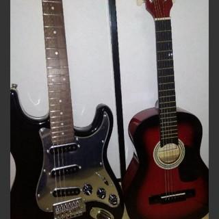 ギター二本(アコギ、エレキ)(その他)