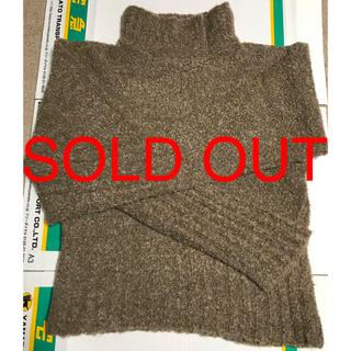 【値下げSALE】同素材マフラー付き《ニット・セーター》(ニット/セーター)