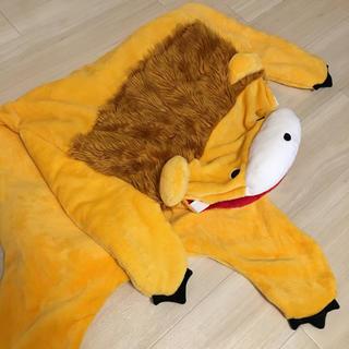 シマムラ(しまむら)のこども用 寝袋 着ぐるみ ライオン(おくるみ/ブランケット)