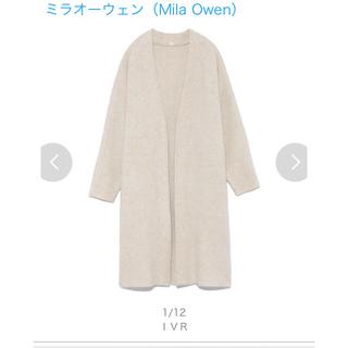 ミラオーウェン(Mila Owen)の 新品未使用タグ付き Mila Owen ニットコート(ニットコート)