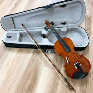 全国送料無料☆木製ヴァイオリン ブラウン フルサイズ