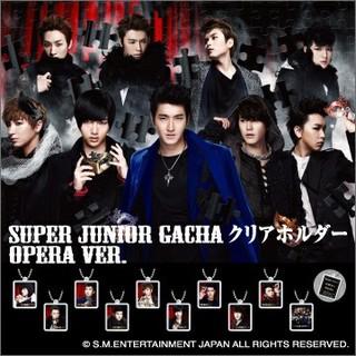 スーパージュニア(SUPER JUNIOR)のSUPER JUNIOR イェソン OPERA ガチャ クリアホルダー(アイドルグッズ)