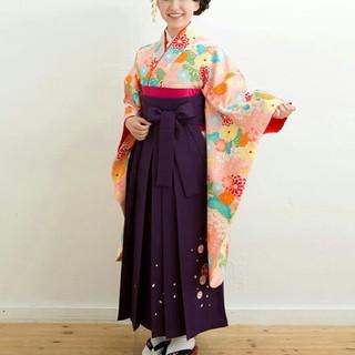 小学校☆卒業式☆袴セット🌟小町kids🌟4点セット☆ジュニア☆キッズ(和服/着物)