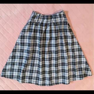 キューティーブロンド(Cutie Blonde)のCutie Blonde☆チェックスカート(ひざ丈スカート)