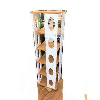 ■回転収納棚 本棚 ブックシェルフ(本収納)
