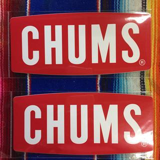 CHUMS - 新品 CHUMS Sticker 2枚セット チャムス ステッカー g