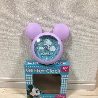 ディズニー(Disney)のGlitter Clock(置時計)